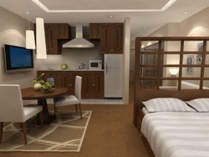 Дизайн однокомнатной квартиры своими руками