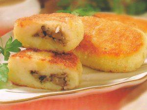 Оладьи из тыквы и картофеля