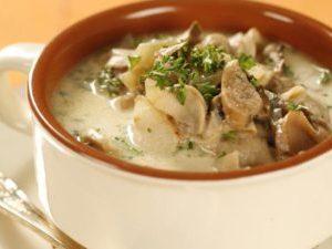 Вкуснейший сырный суп с грибами