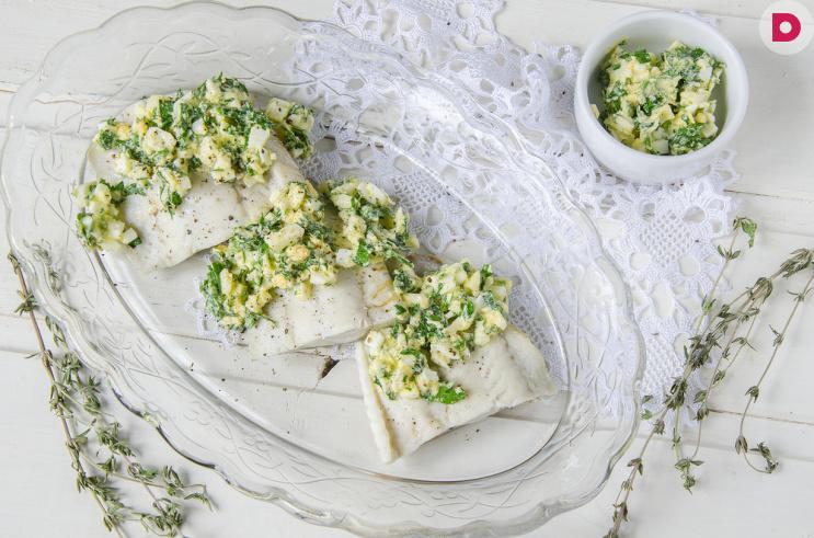 Креветочная рыба в лимонном соусе