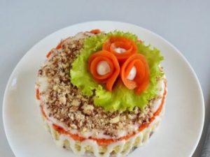 Салат с сельдью «Фаворит»