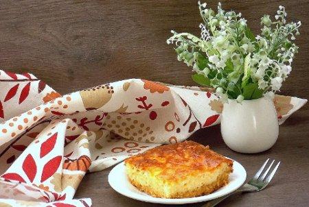 Насыпной сырный пирог