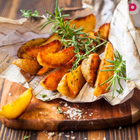 Картофель по-французски, запеченный в духовке