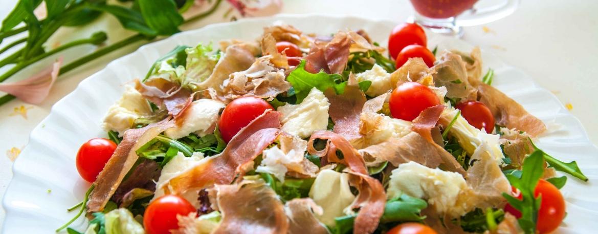 Универсальный малокалорийный салат «Здоровье»