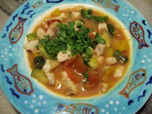 Мексиканский рыбный суп