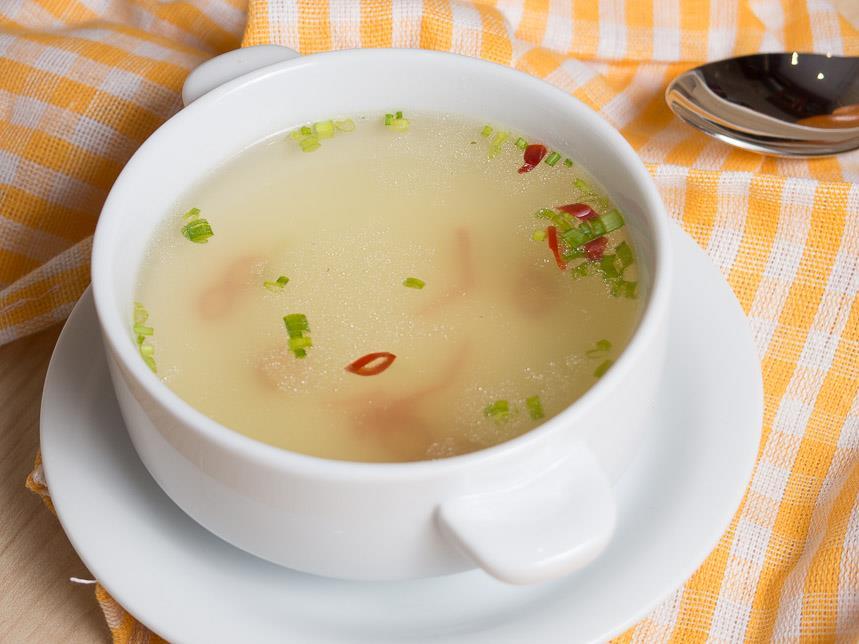 Как правильно и вкусно приготовить суп на курином бульоне