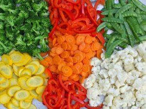 Правильная покупка замороженных ягод, фруктов, грибов и овощей в магазине.