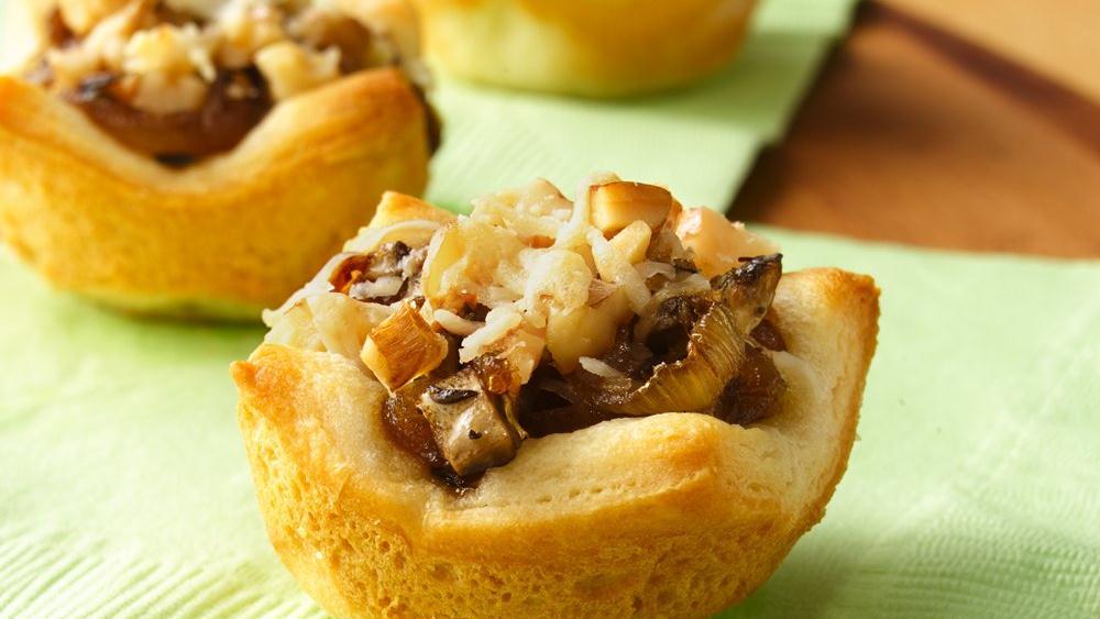 Картофельные «пирожки» с грибами
