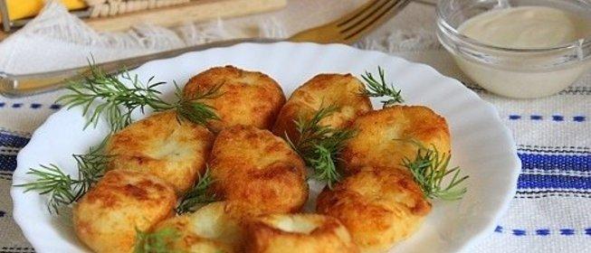 Картофельные клецки вареные и жареные