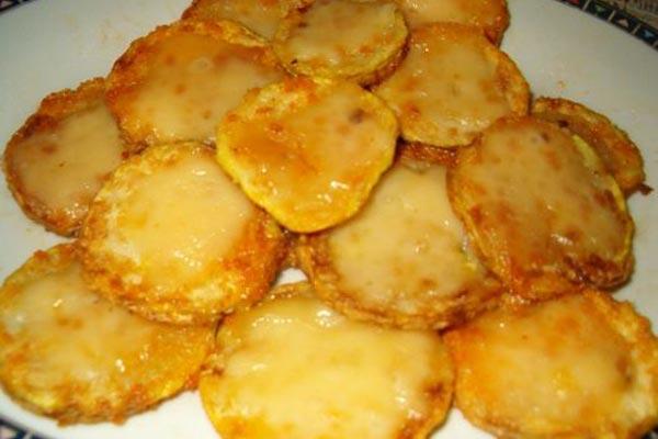 Сырники с малиновым вареньем