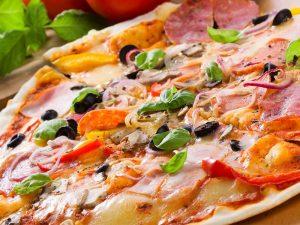 Начинка для пиццы с колбасой
