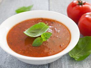 Суп из свежих помидоров
