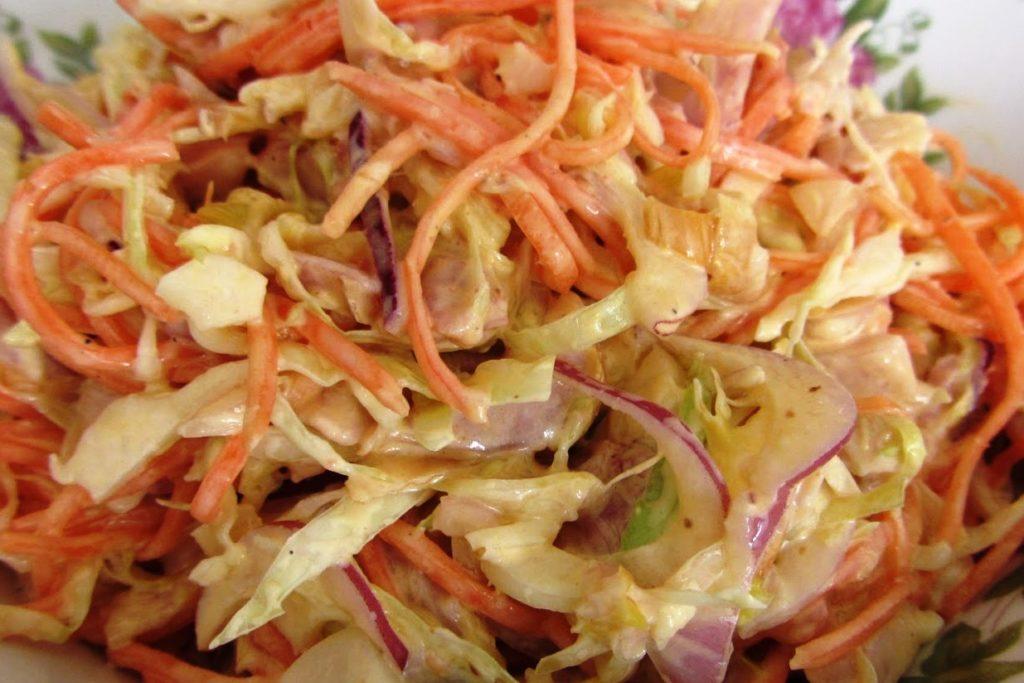 Салат «Анастасия» с пекинской капустой и корейской морковью