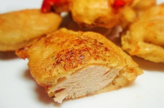Рецепт куриной грудки в пивном кляре