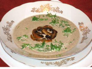 Грибной суп по-шведски