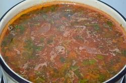 Суп харчо за несколько минут
