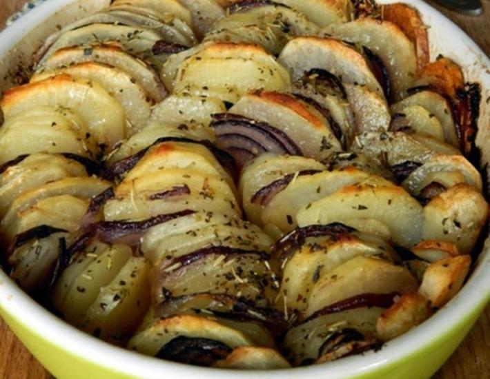 Запеченный картофель «Криспи гратин»