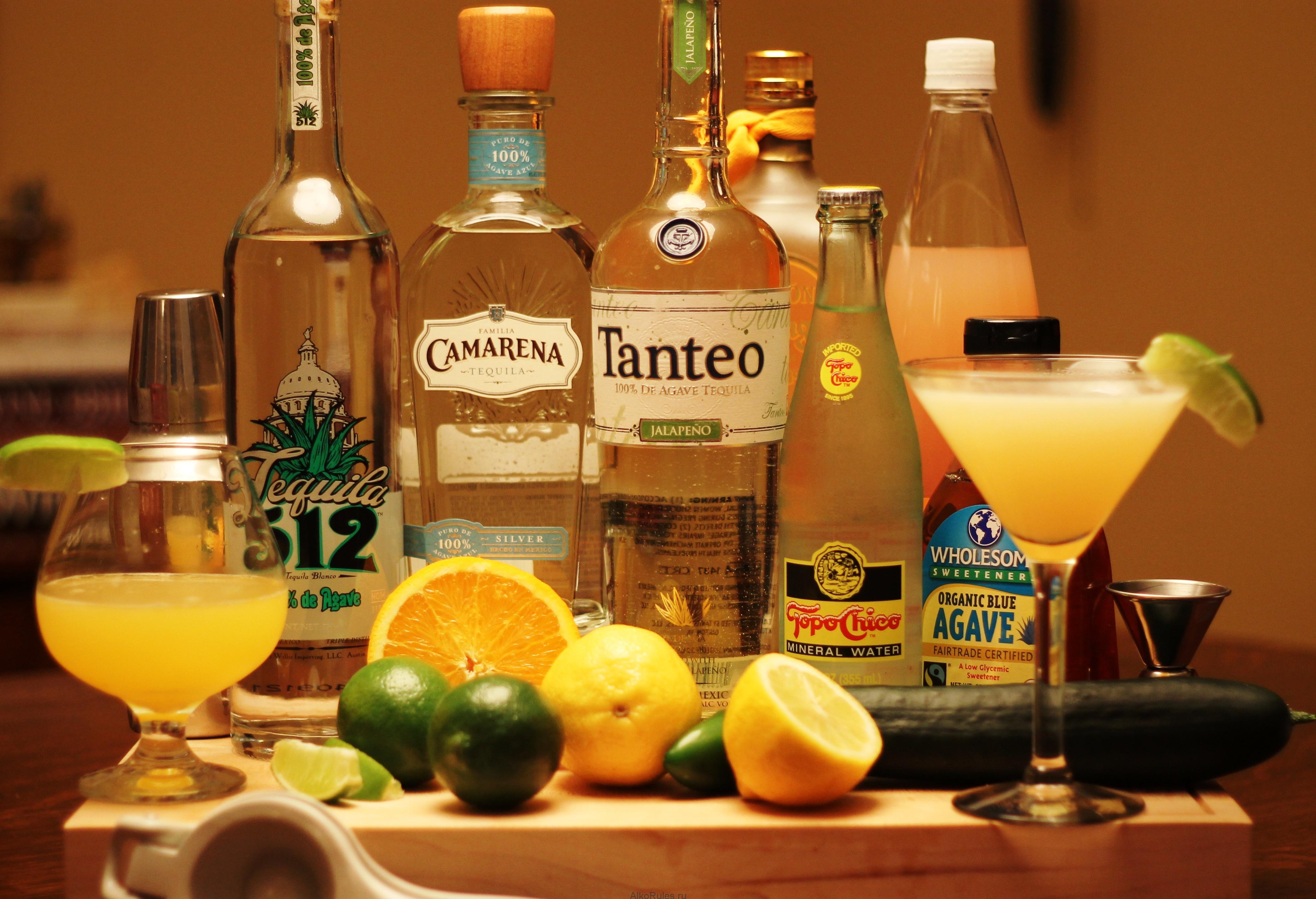 Алкогольный напиток — Текила