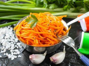 Вкуснейшая морковь по-корейски за 15 минут