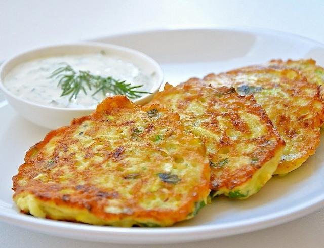 Простой рецепт оладий из кабачков