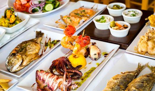 Мезе — национальное блюдо Кипра