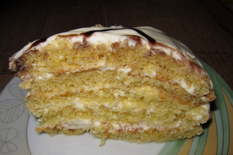 Торт «Milchmädchen»- простой вкусный торт
