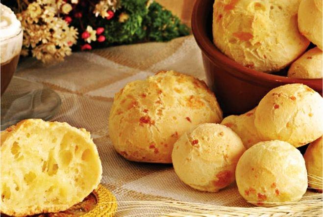 Бразильский сырный хлеб