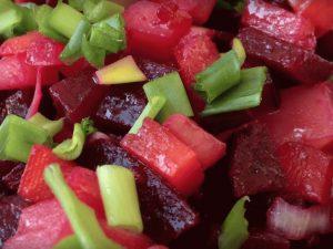 Диетический салат при гастрите