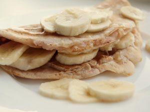Овсяные блины с бананом