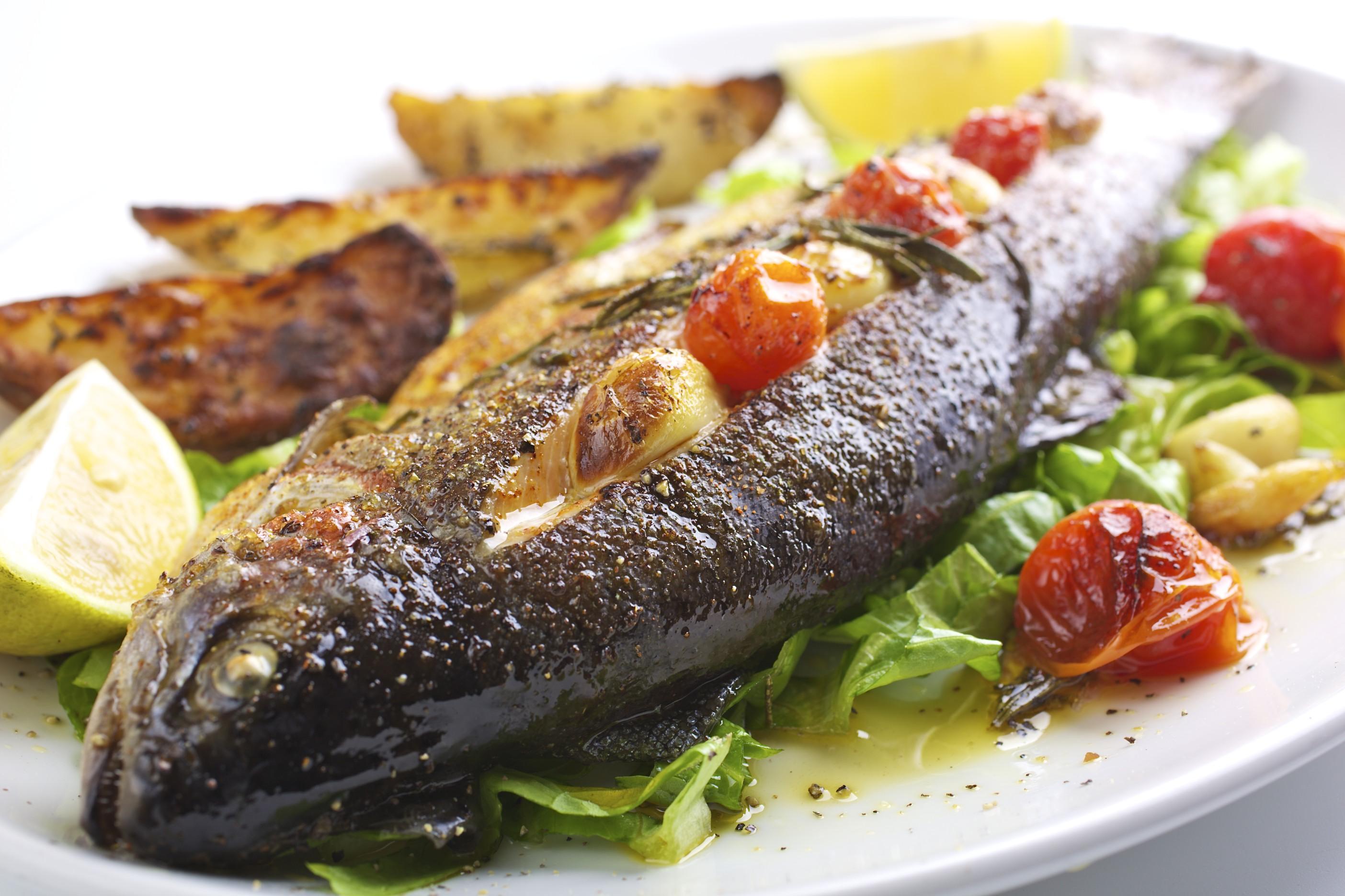 Что можно приготовить с рыбки?
