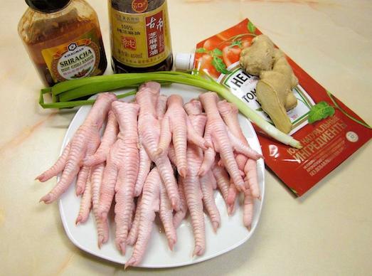 Как можно приготовить куриные  лапки?