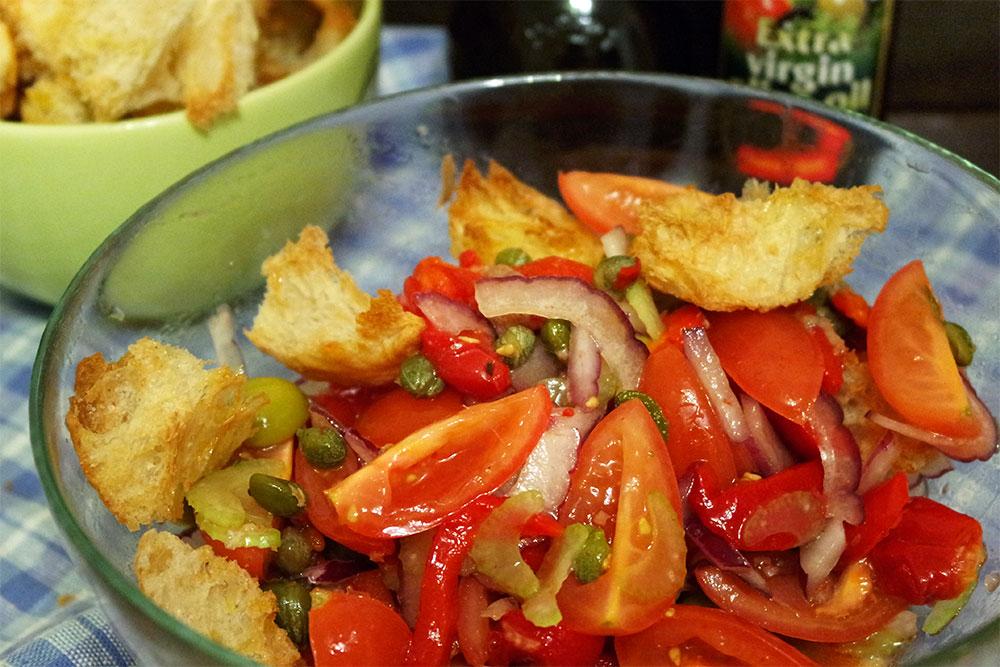 Диетический крамбл из овощей в духовке