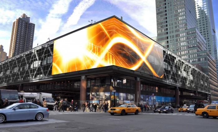 Специализированные RGB экраны для наружной рекламы под заказ от производителя
