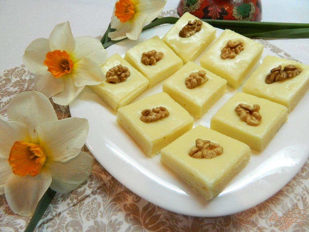 Индийская сладость Бурфи из сухого молока