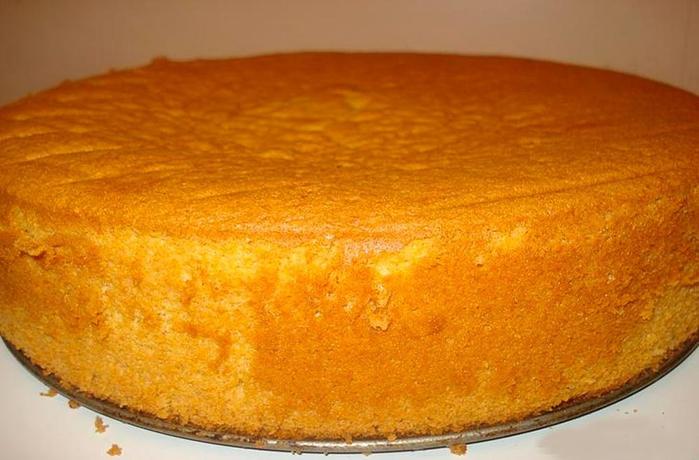 Как приготовить сметанный бисквит
