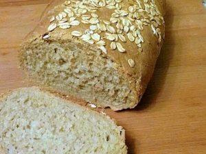 Мясной хлеб с грибами и овсяными хлопьями