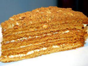 Как приготовить торт «Рыжик»