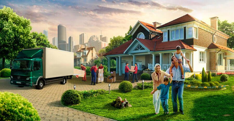 Организация дачного переезда: быстро, просто, недорого