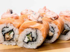 Как появились суши