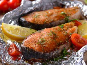 Запеченная рыба