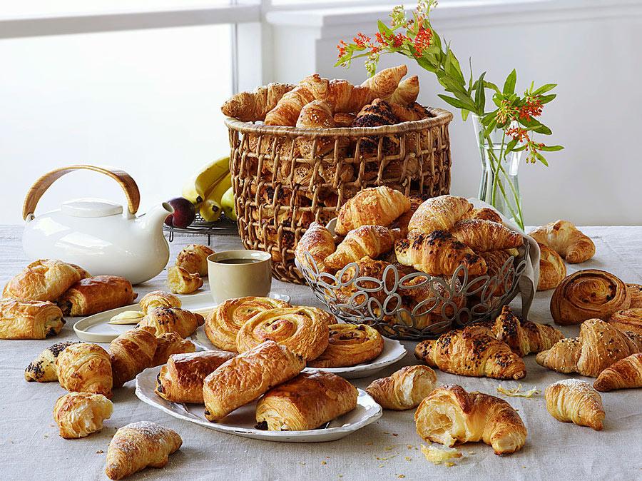 Поставка замороженных хлебобулочных и кондитерских изделий из Европы фирмой «Гермес»