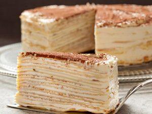 """Блинный торт """"Крепвиль"""""""