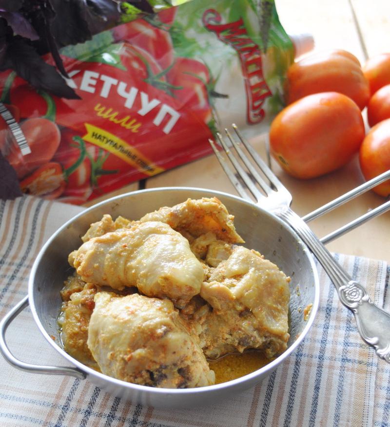 Цыплёнок карри