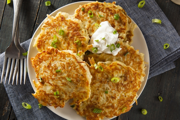 Домашние картофельные драники к завтраку