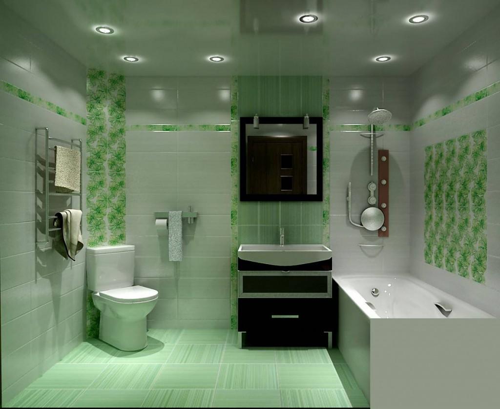 Ванная комната. Выбираем потолок