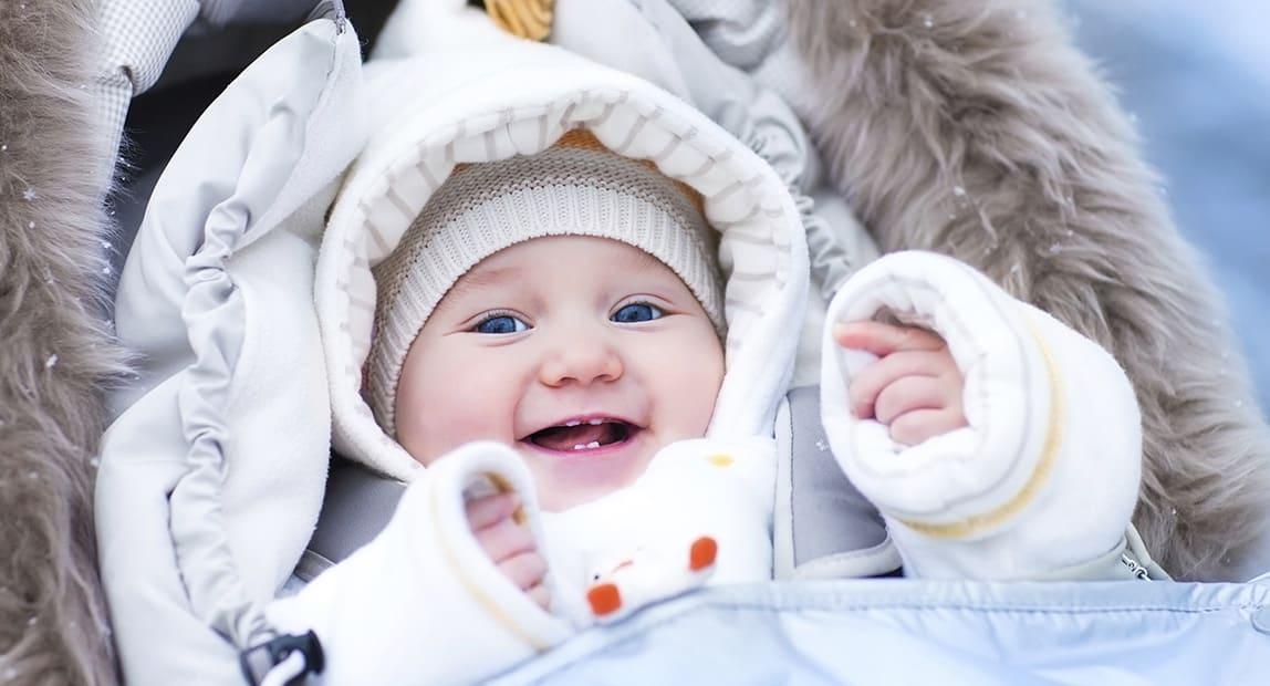Как одеть ребёнка для зимних прогулок