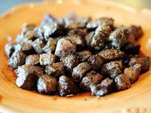 Традиционная говядина жаренная в сливочном масле