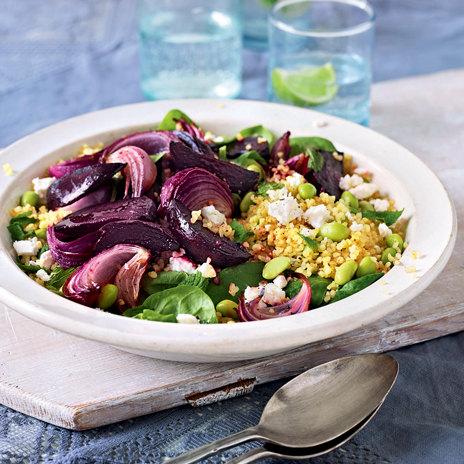 Салат из свеклы с булгуром