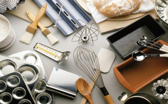 Разнообразие кондитерских инструментов