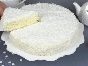 Торт «Снежинка»